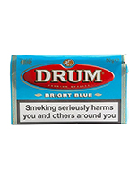 Drum Bright Blue Cigarettes pack