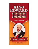 King Edward Specials D.C. Cigars Cigarettes pack