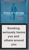 Philip Morris Novel Silver