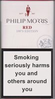 Philip Morris Red 100S