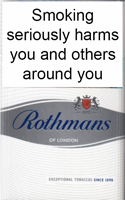 Rothmans King Size Silver Cigarettes pack
