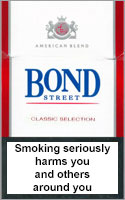 Bond Classic Cigarettes pack