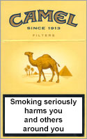 Camel Filters Cigarettes pack