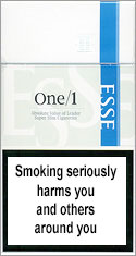 ESSE Super Slims ONE 100's Cigarettes pack