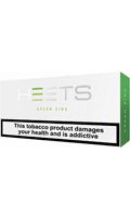 IQOS HEETS Green Cigarettes pack