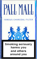 Pall Mall Lights (Blue) Cigarettes pack