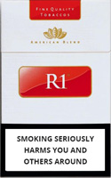 R1 Red King Size Cigarettes pack