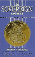 Sovereign Blue (Lights) Cigarettes pack